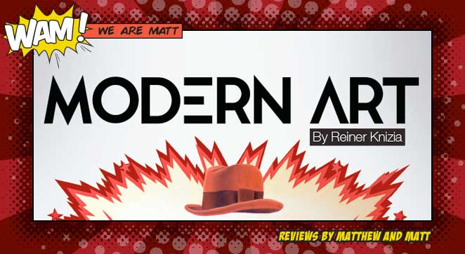 A Board Game Review of Modern Art